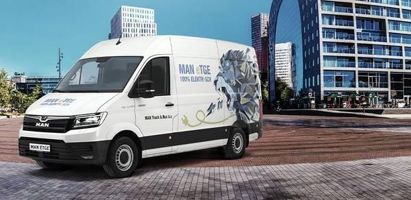 MAN eTGE - 100% elektrisch