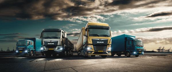 Nieuwe MAN Trucks