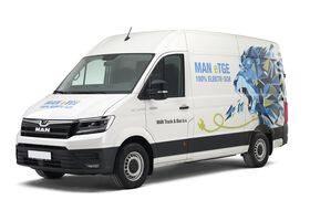 MAN eTGE - De elektrische bestelwagen van MAN