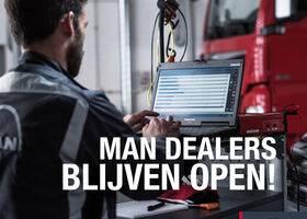 MAN dealers blijven open