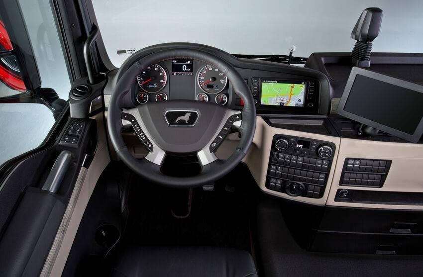 Overzichtelijke cockpit met Media Sound Pakket