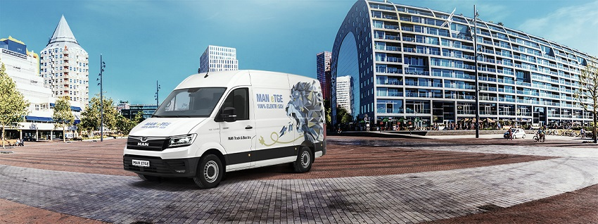 MAN eTGE - 100% Elektrische bestelwagen